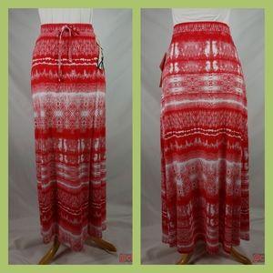 NWT Seven 7 maxi skirt drawstring waist